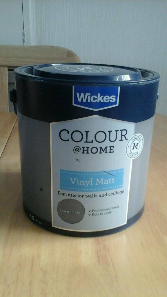 Wickes Colour Home Vinyl Matt Emulsion Urban Nights In Hartlepool