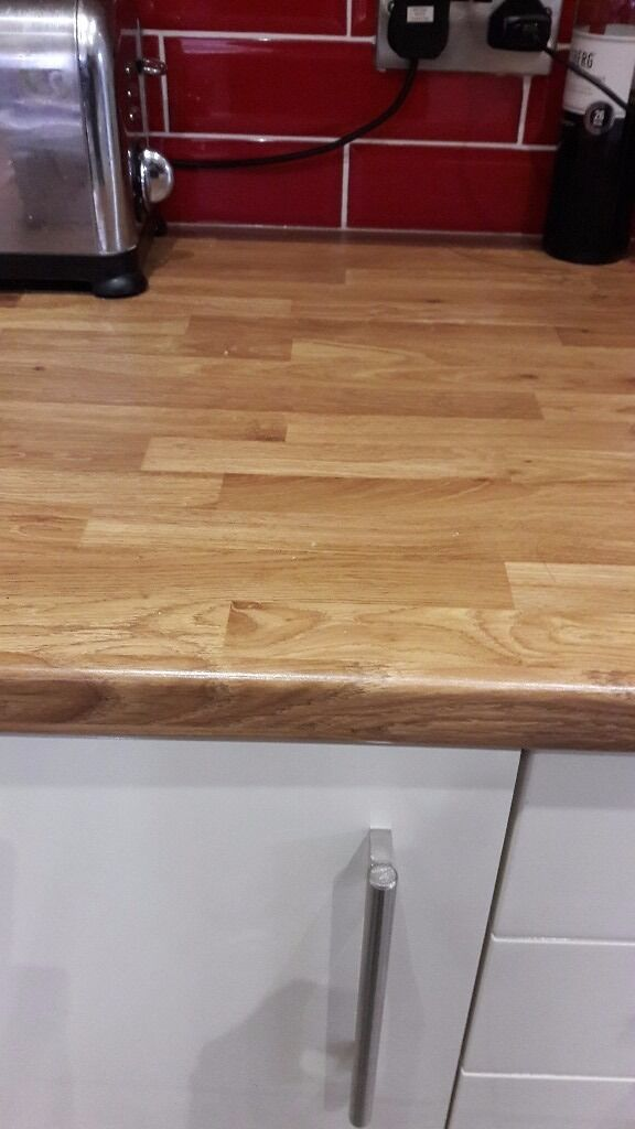 Kitchen Worktop New Off Cut Wickes Colmar Oak In