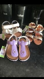 Girls Sandals Size 4 £10