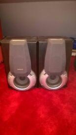 Technics SB-EH560 3 way tri-amp speakers