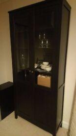 Sell IKEA Glass-door cabinet - HEMNES