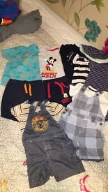 Bundle of baby boy clothes 3-6months