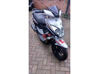 2013 Kymco Super 8 125cc Scooter - Spares or Repair.