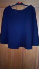 Two black skirts for sale