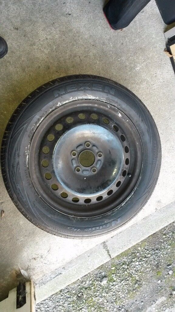 Spare Wheel - 205 55 16 - 5 stud wheel off Ford C Max