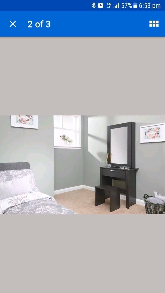 Expresso dressing table