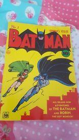 No1 Batman spring issue 1940 reprint