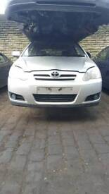 Toyota corollas breaking for parts 01-03 & 04-06