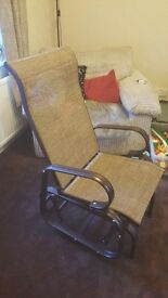 Home source seat glider / rocking chair