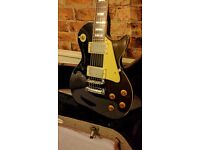 Tokai Lets Rock ebony electric guitar free hard case and practice amp