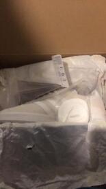 Adidas gazelles off white