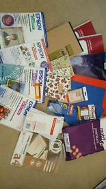 Job lot stationery and photo printing paper