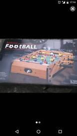 Unused Tabletop football.