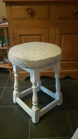 Shabby chic occasional stool