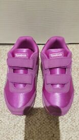 Reebok junior size 1 trainers