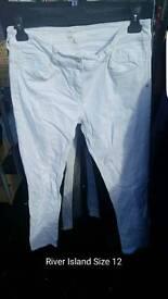Joblot womens size 12 jeans