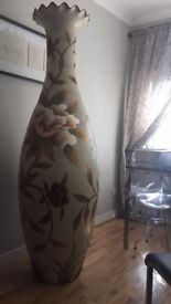 6ft tall floral vase