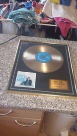 jamie cullum twenty something gold disc limited edition number 2 of 50 £40 bargain