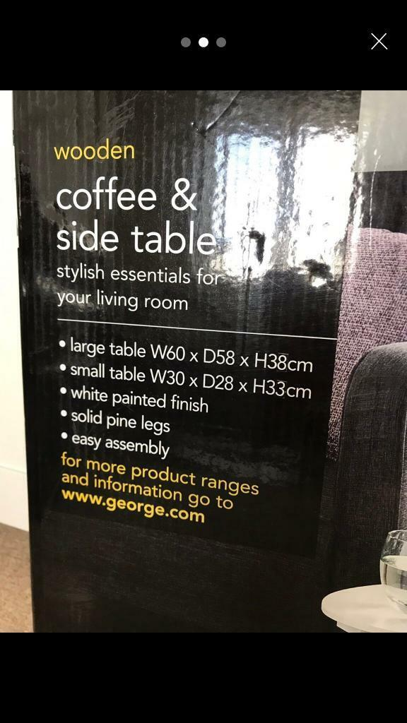 Asda George Home Coffee Side Table Duo Set In Goldthorpe South Yorkshire Gumtree