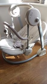 Mamas & Papas Baby Swing **Like New Condition** **From a smoke free clean home**