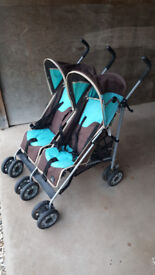 Twin Stroller/Pushchair