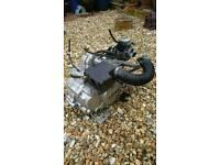 Life 120cc liquid cooled four stroke marine ready engine