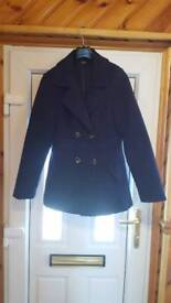NAVY JACKET SIZE 10