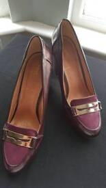 Next purple heels - size 41