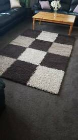 Large chocolate rug for sale