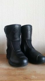 Ladies motorcycle boots size 5