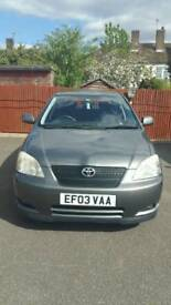 Toyota Corolla T3 VVTI For Sale.