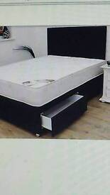 New double 2 drawer bed