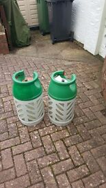 2 x 10kg Gas Light bottles.