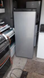 **SILVER*FREESTANDING FREEZER**ONLY £90**FULLY WORKING**COLLECTION\DELIVERY**BARGAIN**