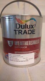 2.5ltr Weathersheild Exterior High Gloss ( Drk Green)