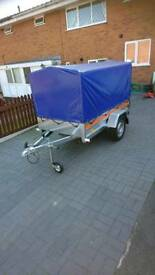 Car box trailer TEMA brand new
