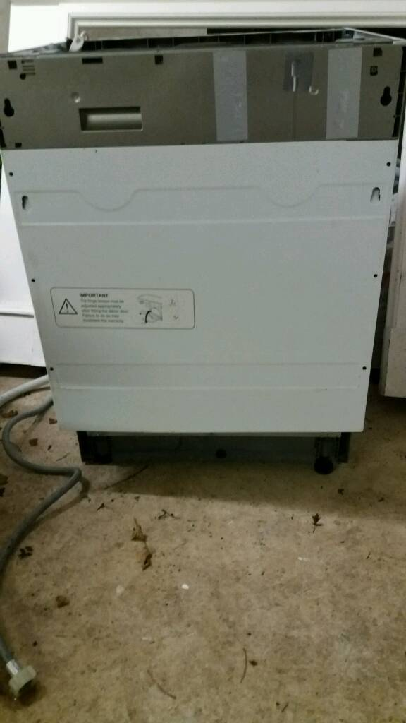 CDA WC 140IN Dishwasher for spares