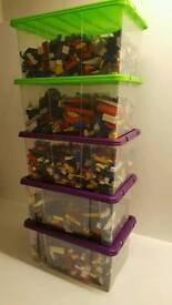 GENUINE MIXED 1kg LEGO