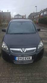 Vauxhall Zafira 1.7cdti Design 125bhp 12/12