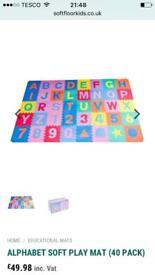 High quality Alphabet soft play mat (40 pack)