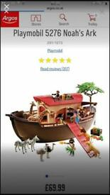 Play Mobil Noah's ark brand new