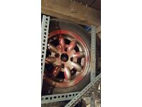 "Classic mini minilight alloys 12""×5"" Minators with yoko a539 tyres"