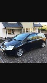 Honda Civic type S in great condition for its ages - quick sale 500 needs to be sold today