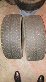 "7mm tread 2 x 17"" Nexen WINguard 215/55/17 winter snow tyres"