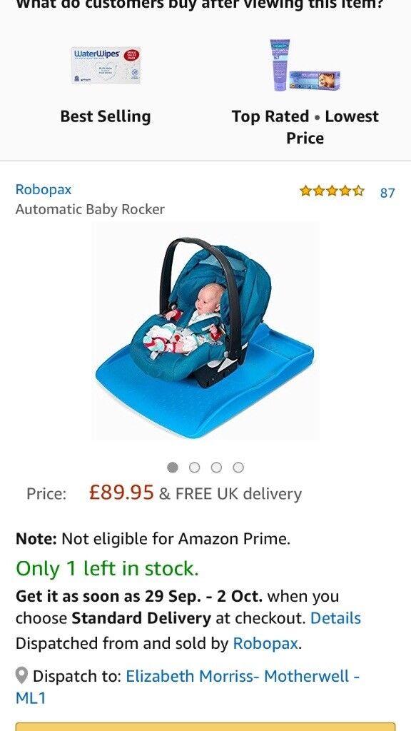 Robopax for calming babies