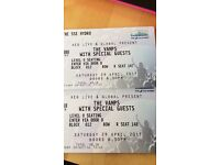 2 Vamps tickets for tonight 29/4/17 at Hydro Glasgow