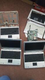 Joblot 6 laptps parts .