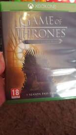 Game of thrones Xbox one game