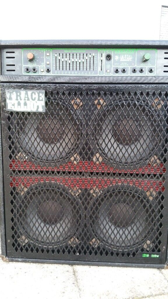Trace Elliot 200w Series 6 Bass Combo Amplifier Amp and 4x10 speaker