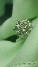 Astonishing 4.76cts brilliant round cut Diamond engagement ring £22500 value